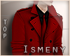 [Is] Trench Coat Red
