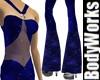 Blue Sparkle Jumpsuit