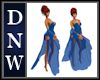 NW Dark Blue Ball Gown