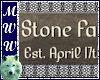 Stone Family Est Sign