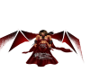 Red animated wings w tri