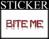 |SrD| Bite Me sticker