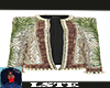 Gold Palm Balmain Jacket