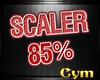 Cym 85% Scaler