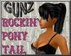 @ Rockin Ponytail Black