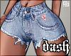 .Denim Shorts L.