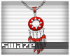 Takeo Red Necklace