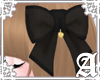 Sheer Ribbon Clip~ Black