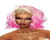 wavy blonde n pink