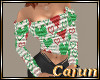 Christmas Hearts Sweater