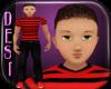Kymir Hzl TEEN Red Blk