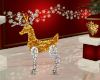 Gold Silver Reindeer