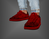 Leather Kicks Red