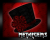 CEM Red GothLace Tophat