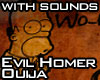 Evil Homer Ouija