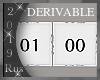 Rus:DERIV Set Of 2 Frame