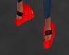 Ugg Fluffy Slide Red