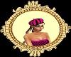 Pink N Black Beret