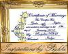 I~Zaria Wedding Cert