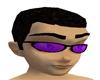 Purple/Black Sunglasses