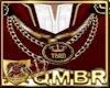 QMBR TBRD Crown Necklace