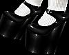 B! PVC Heels & Socks