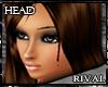 R- F beautiful head