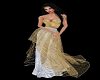 Silver & Gold Gown