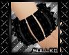 [.s.] PVC Spike Bracelet