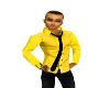 yellow shirt,