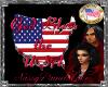 God Bless USA 3D Sign