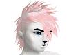 pink punky hair