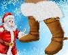 Silver Fur Winter Boots