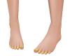 *B Yellow Gold Pedicure