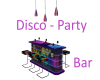 Disco Party Chat Bar