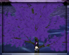 Animated Purple Tree