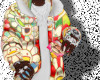 murakami puffer coat !