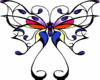 butteryfly transparent