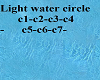 water circle magic light