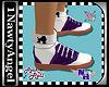 (1NA) Saddle Shoes Purpl