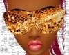 Disco Gold Glasses