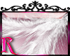 *R* White Feather Stickr