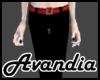 Av~Slacks - Red Belt
