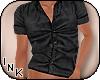I| Button-Up Shirt Blk