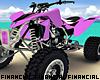 Pink ATV Quad