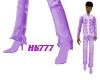 HB777 Prince Boots LtPpl