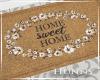 H. Sweet Home Doormat