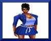 Blue Jacket w/Skirt