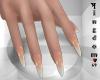 Sharp nails natural