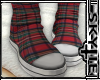 Sock Boots ( Plaid